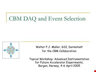 CBM DAQ and Event Selection