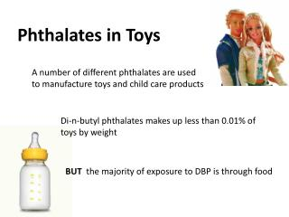 Phthalates in Toys