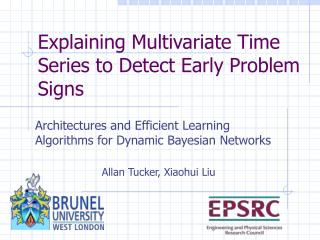 Explaining Multivariate Time Series to Detect Early Problem Signs