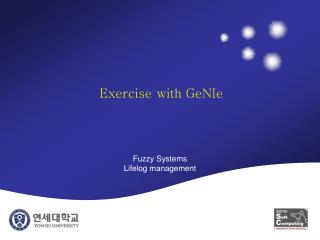 Exercise with GeNIe