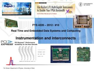 Embedded / Real-Time systems and the real world