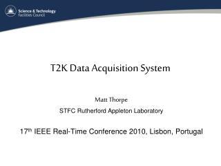 T2K Data Acquisition System