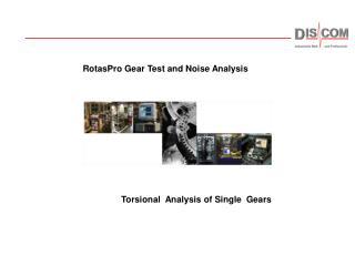 Torsional  Analysis of Single  Gears