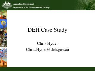 DEH Case Study