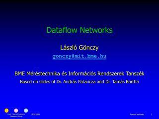 Dataflow Networks