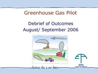 Greenhouse Gas Pilot