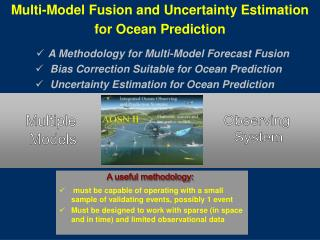 Multi-Model Fusion and Uncertainty Estimation  for Ocean Prediction