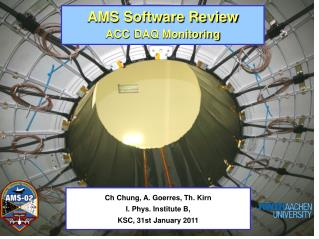 AMS Software Review  ACC DAQ Monitoring