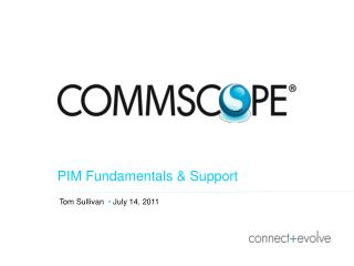 PIM Fundamentals & Support