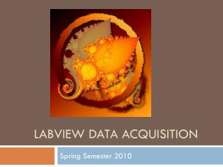 LABVIEW DATA ACQUISITION