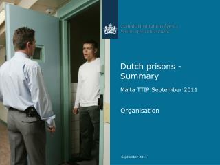 Dutch prisons - Summary