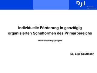 Dr. Elke Kaufmann