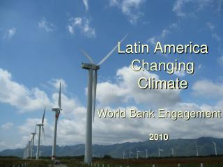 Latin America Changing Climate