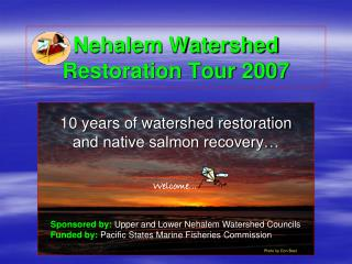 Nehalem Watershed Restoration Tour 2007
