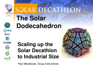 The Solar Dodecahedron