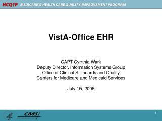 VistA-Office EHR