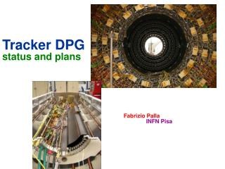 Tracker DPG status and plans