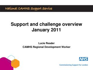 Support and challenge overview January 2011