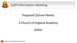 Staff Information Meeting
