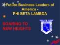 Future Business Leaders of America - PHI BETA LAMBDA