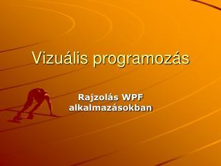 Vizuális programozás
