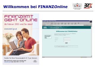 Willkommen bei FINANZ Online