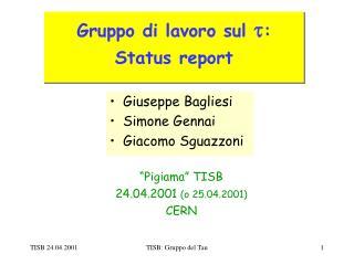 """""""Pigiama"""" TISB 24.04.2001  (o 25.04.2001) CERN"""