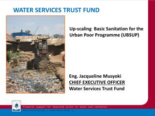 Water Services Trust Fund