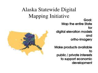 Alaska Statewide Digital  Mapping Initiative