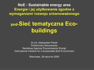 Eco-buildings ogólnie