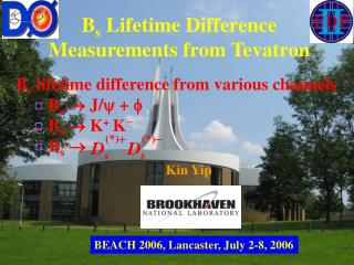 B s  Lifetime Difference Measurements from Tevatron