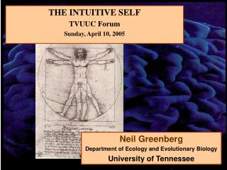 THE INTUITIVE SELF TVUUC Forum Sunday, April 10, 2005