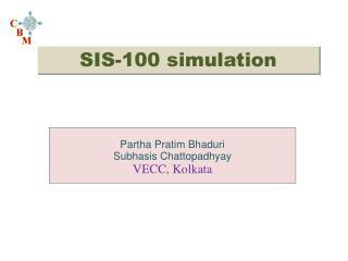 SIS-100 simulation