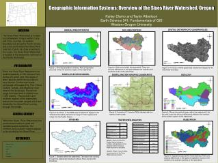 Geographic Information Systems: Overview of the Sixes River Watershed, Oregon