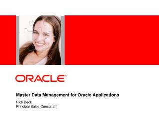 Master Data Management for Oracle Applications