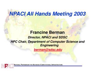 NPACI All Hands Meeting 2003