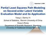 Yang Li  Danhui Yi School of Statistics , Renmin University of China Huiyun Zhang Department of Scientific Research, Sha