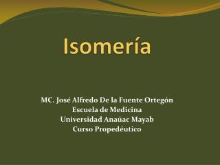 Isomería
