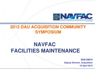 NAVFAC  FACILITIES MAINTENANCE