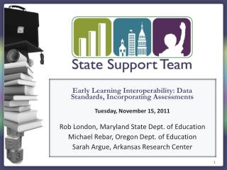 Early  Learning Interoperability: Data Standards, Incorporating Assessments