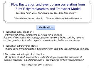 Flow fluctuation and event plane correlation from  E-by-E Hydrodynamics and Transport Model