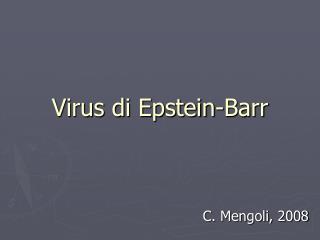 Virus di Epstein-Barr