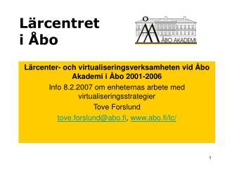 Lärcentret i Åbo