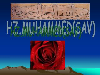 HZ.MUHAMMED(SAV)