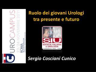 Ruolo dei giovani Urologi tra presente e futuro