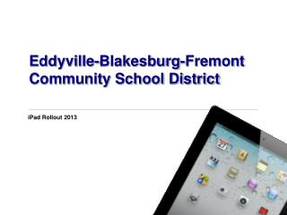 Eddyville-Blakesburg-Fremont Community School District