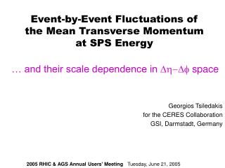 Event-by-Event Fluctuations of the Mean Transverse Momentum at SPS Energy