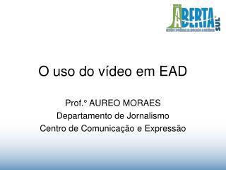 O uso do vídeo em EAD