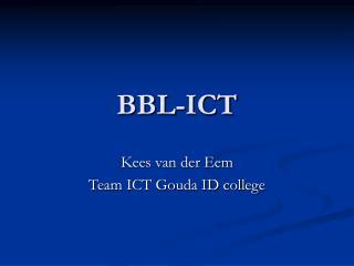 BBL-ICT