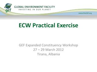 ECW Practical Exercise